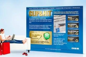 Portal für Rabatt-Booklet CLIP&HIT