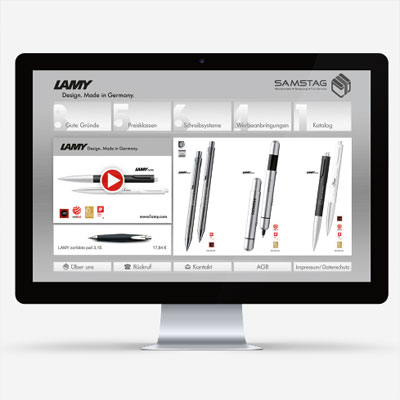Product portal for a promotional material dealer
