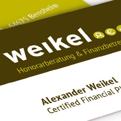 Corporate Design für einen Finanz- und Honorarberater