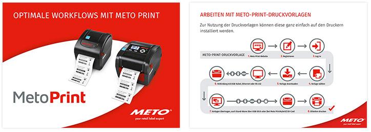Meto Print Präsentation für Kunden und Anwender