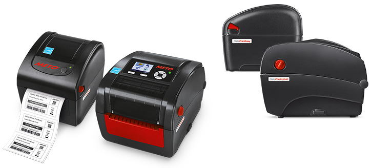 Produktfotos der Meto Print Drucker